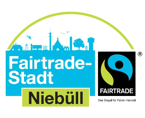fairtrade town niebuell logo